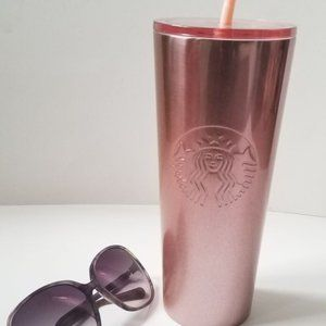 Starbucks Ombre Rose Gold Tumbler